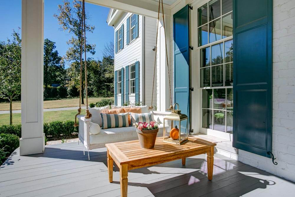 Front Deck Porch Swing